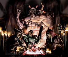 Ouija game- Who's the demon? by ArdathLilitu