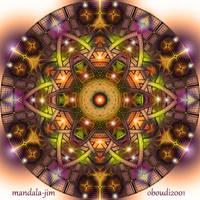 Mandala 19 - Collaboration 2 by Mandala-Jim