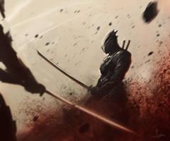 Scifi Ninja by yonax