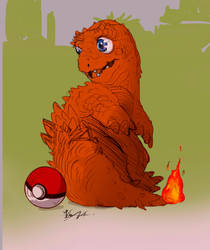 Little Charmander by yonax
