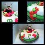 Ladybug cake by Miss-Chili