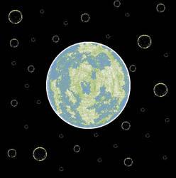 Ms Paint Alien World by Spatiality