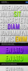 3D Text Effect by erigongraphics