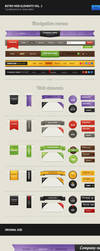 Retro Web Elements Vol. 2 by erigongraphics