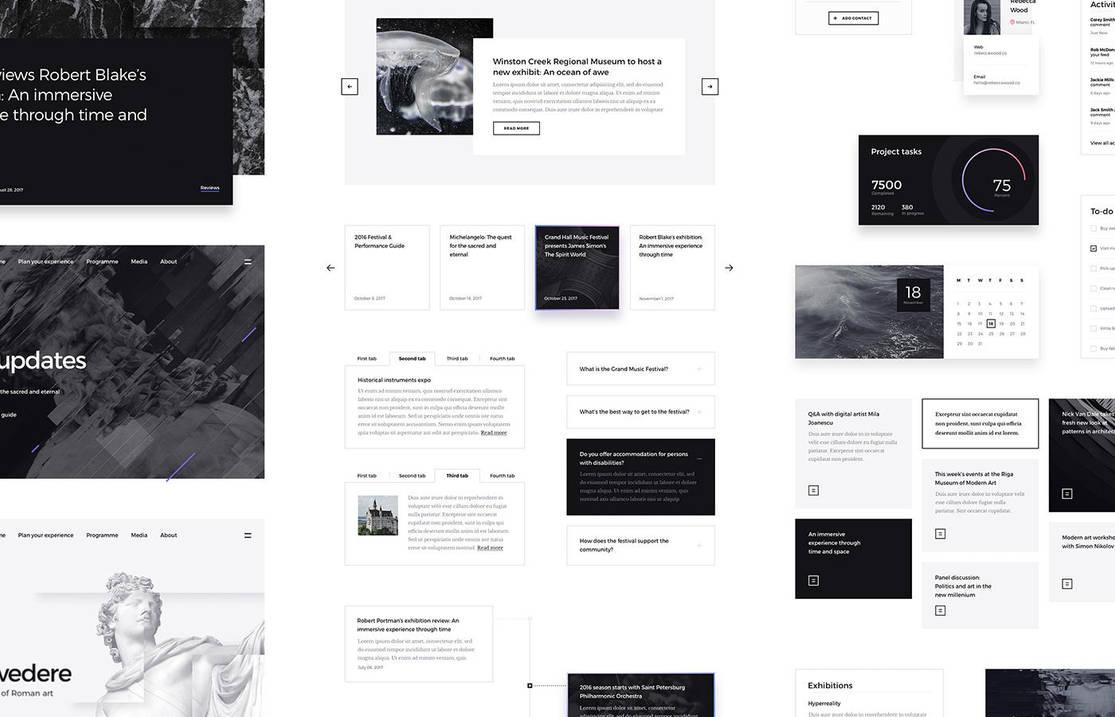 Forma UI Kit by erigongraphics