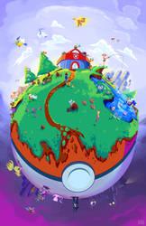 World of Pokemon by cmetznerdotcom