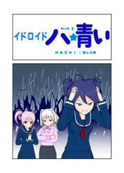 Hachi Blue Webcomic by KrimsonGray