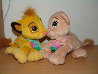 Best Friends - Simba Nala 2 by Toy-Ger