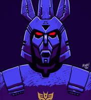 Daily Sketch 29 - Cyclonus by SeanRM