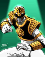 HU 65 - White Ranger by SeanRM