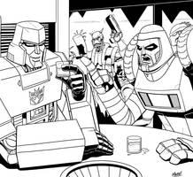 Stream - Megatron and Cy-Kill by SeanRM
