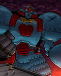 Heads Up 162 - Giant Robo by SeanRM