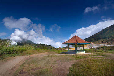 Sikidang Crater, Dieng Plateau by philatmeartwork