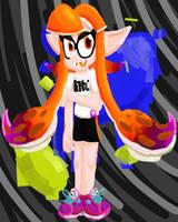 Squid Kid Girl! by Palkachu