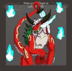 [CC] Dragon Meme - Yin by Palkachu