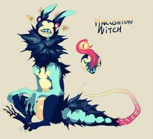 {344} Pincushion Witch by CCCompendium