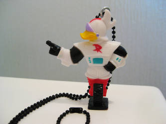 Duck Tales Gizmoduck Necklace by DarkSaberCat