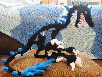 Pipe Cleaner Black Dragon by DarkSaberCat