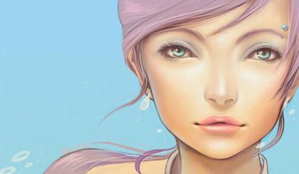 Charllene Portrait by Shinne