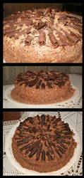 Die of JEALOUSY choco cake by Shintei-chan