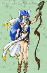 Gabi-new outfit design by Shintei-chan