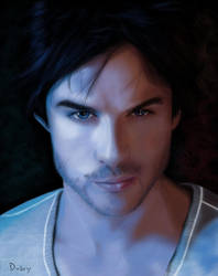 Damon Salvatore by DarkDuby