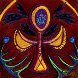Ankh by Moonsquirrel