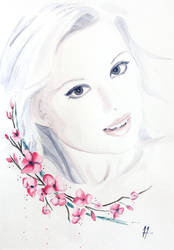 Womanly Vision - Cherry Tree by TwinDrops