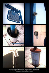 Bus stop project. by AdamoN