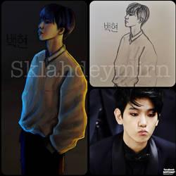 Byun Baekhyun [EXO] by Visanouli