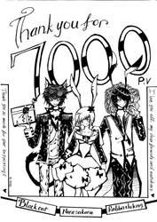 7000.kiriban.thank you by rabbittheking