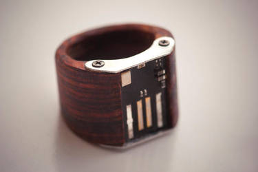 Digital Ring by back2root