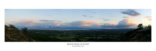 Mount Doug Dusk by ALTereg0