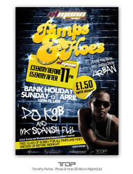 Pimps and Hoes Flyer by ALTereg0