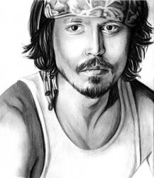 Johnny Depp by Fabielove