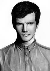 Ian Harding (Ezra Fitz) by Fabielove