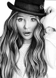 Chloe Moretz by Fabielove