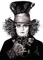Mad Hatter - Johnny Depp by Fabielove