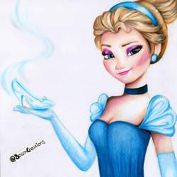 Cinderella/Elsa - MIXED - Cinderelsa by Fabielove