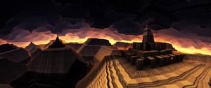 Hram - panoramic view by KPEKEP