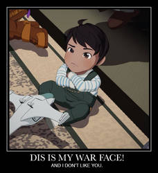Demotivational Poster RWBY - DIS IS MY WAR FACE! by JustRWBY-RK