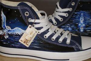 Nightwish Shoes by willdrawforfood