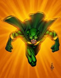 The Green Zap by Quiroz-Odoms by NovaBurst