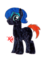 Ragnar (Sabine Wren and Bo Katan Pony Fusion) by WarNightZollo