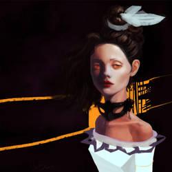 a girl by Chr-Steam