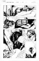 Ghost Rider pp 15 ink by LeoColapietroArt