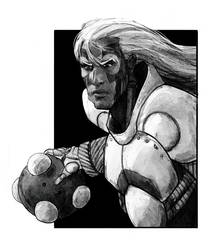 Champion Cyborg by LukeDenby