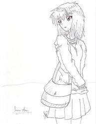 Serena Akari BW by Aly081607