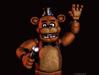 (Blender) Freddy Fazbear render by FnafArts003