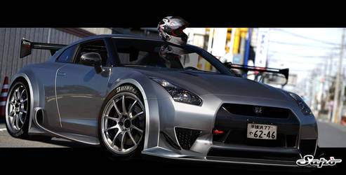Nissan Gt-r by Saporita